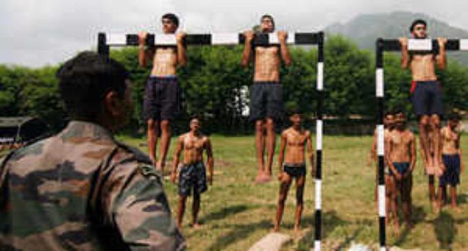 Army, police etc recruitment begins In Kashmir