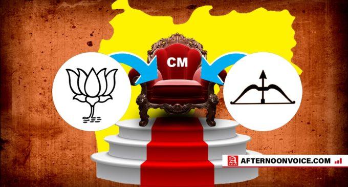 Shiv Sena taunting BJP in Maharashtra