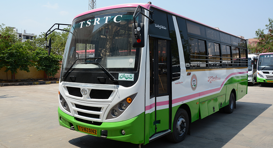 do not know tsrtc busses comes on roads