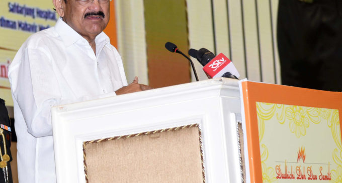The Vice President calls upon youth to overcome apprehensions and pledge to donate organs